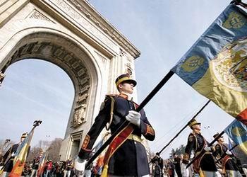 Drapel Regal Arcul de Triumf 1212 ziuaveche.ro