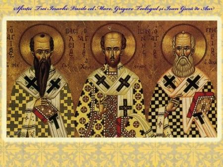 Sfintii Trei Ierarhi basilica.ro