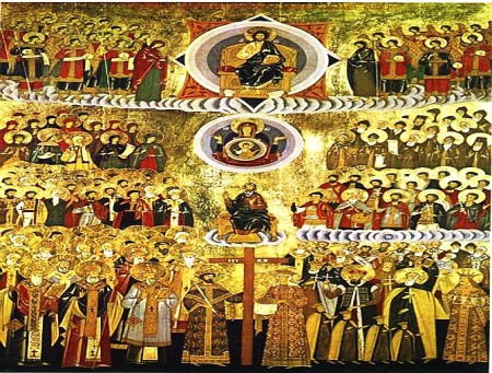 Duminica tuturor sfintilor basilica