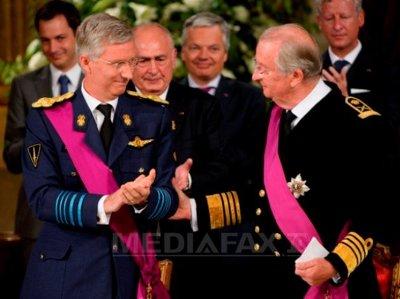 Regele Philippe al Belgiei via Mediafax