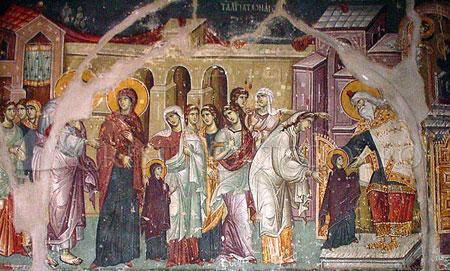 Intrarea Maicii Domnului in Biserica crestinortodox.ro